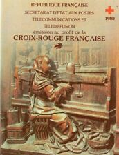 France 1980 Red X booklet MNH