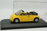 Minichamps 1/43 - VW New Beetle Cabriolet Amarillo