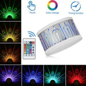 RGB LED Wall Light Luminaire Background Lamp Color Night Club Bar Room Decor