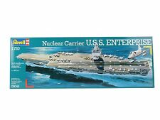 NEW REVELL 1:720 SCALE USS ENTERPRISE AIRCRAFT CARRIER MODEL KIT SEALED 05046