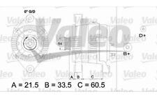 VALEO Alternador 100A 437422