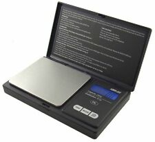 American Weigh Signature Series AWS-250-BLK Digital Pocket Scale 250 by 0.1-Gram - Black
