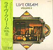 """CREAM / ERIC CLAPTON """"LIVE CREAM VOL. II"""" ROCK LP RSO MV-2127"""
