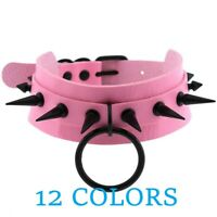 Gothic Jewelry Punk Spike Goth Choker Collar Women Studded Rivet Emo necklace