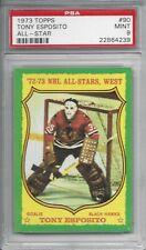 1973 Topps #90 Tony ESPOSITO - PSA 9+++ HOF Blackhawks (no 10s)