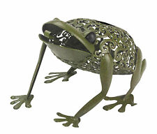 Smart Solar Metal Silhouette Frog Light-Dule Function LED