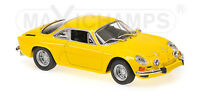 MINICHAMPS 940113601 -  RENAULT ALPINE A110 - 1971 - YELLOW  1/43