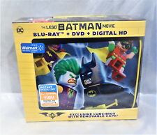 The Lego Batman Movie Lunchbox With Removable Cape Blu-ray DVD Digital Download