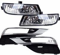 OEM Fog Light Installing at Bumper With Bulbs + Switch For 2015+ Honda CRV Pair