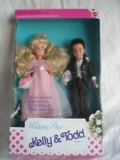 Wedding Day Kelly & Todd Gift Set Barbie  1991