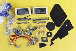 1set DIY Electric Guitar Kit Guitar hardware Pickup Bridge Tailpiece Pickguard