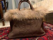 Borsa Donna Marrone Shopping Bag Fixdesign