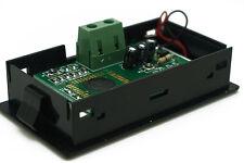 LCD Digital Blue Backlight Volt Meter Two-wire Voltmeter Direct-current 7.5-20V