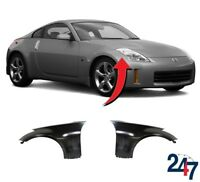 NEW FRONT WING LEFT + RIGHT FENDERS PAIR SET N/S + O/S FOR NISSAN 350Z 03 - 09