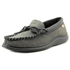 Pantofole da uomo in camoscio grigio