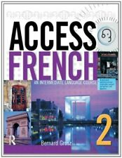 Access French 2: SUPPORT BOOK ONLY - EX DIRECTORY... by Grosz, Bernard Paperback
