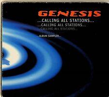 Genesis – Calling All Stations Album Sampler. PROMO CD (1997) Mike Rutherford