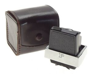Nikon F Waist Level Viewfinder Excellent in Leather Keeper
