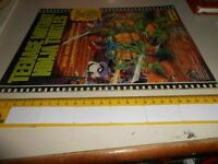 LIBRO - TEENAGE MUTANT NINJA TURTLES - FIGURINE 1990