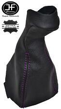 Viola Stitch Manuale in Pelle Pomello Del Cambio Ghetta Copertura Per Mercedes CLK w208 96-03
