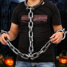 Chain Handcuffs For Halloween Party Props Wrist Shackles Costume Accessories New