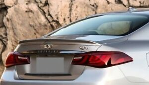 NEW PAINTED REAR SPOILER FOR 2015-2020 INFINITI Q70 - BRAND NEW ANY COLOR