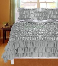 New Waterfall Ruffle Duvet Cover Set All Size & Color 1000TC 100%Egyptian cotton