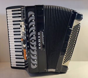 """Iorio Accorgan Piano Accordion """"G"""" Series (41 key and 120 Bass) *Excellent"""