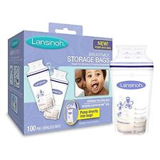 NEW Lansinoh Breastmilk Storage Bags 100 Count FREE SHIPPING