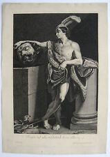 Guido Reni David mit dem Haupte Goliaths David holding the head of Goliath