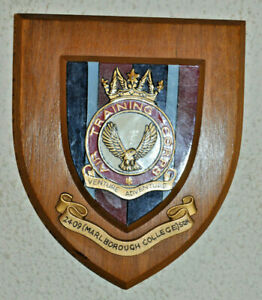2409 (Marlborough College) Squadron Air Training Corps plaque shield ATC RAF