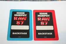 Eddie Murphy  -  Backstage Pass lot # 4  - Free Postage -