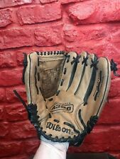 """Wilson A360 Leather Softball Glove 13"""" Right Handed Thrower A0360 A6"""