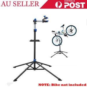 Bicycle Maintenance Home Mechanic Bike Repair Work Stand Rack with Tool Tray AU