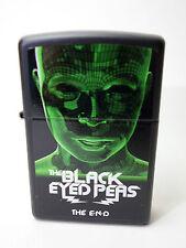 """ZIPPO """" Noir EYED PEAS Le End """" BLACK (Noir) mat - Neuf et dans l'em BALLAGE"""