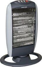 Deluxe Halogen Heater 1200 Watt  3 Heat Settings 400w 800w 1200w