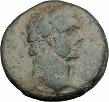 DOMITIAN 95AD Ascalon in Judaea City-Goddess Authentic Ancient Roman Coin i47328