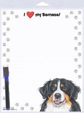 Bernese Mountain Dog Mtn puppy Eraseable Magnet Note Message List Memo Board New