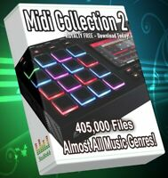 405.000 Midi Collection 2 Almost All Music Genre Ableton Cubase FLStudio Logic