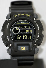Casio DW-9052-1C Mens G-Shock Chronograph Watch 200M WR Resin Black Sports New