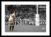 Jonny Wilkinson 2003 Rugby World Cup Spot Colour Photo Memorabilia (SPOT305)