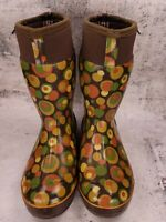 Bogs Womens Size 7 Taylor Bubbles Insulated Rain Snow Boots~Waterproof~Pull on~