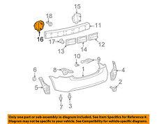 TOYOTA OEM 07-11 Yaris Rear Bumper-Mount Arm Left 5201652080