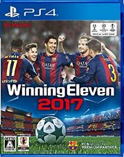Winning Eleven 2017 / PS4 / japanese ver.  PS4