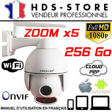 WANSCAM HW0054 CAMERA DÔME IP WIFI FULL HD 1080P + 256 GO ZOOM X5 LED ARRAY
