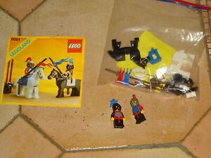 Lego 6021 Moyen Age Chevalier tournoi  vintage  complet A 100% + Notice