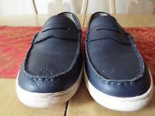 10 M Cole Haan Pinch Maine Classic Grand OS Leather Penny Loafers
