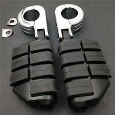 """1 1-1/4"""" Dually Highway Clamps Large Foot Pegs For TRIUMPH 3 2300CC"""