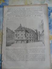 1903 München Ruffini Areal nähe Sendlinger Straße