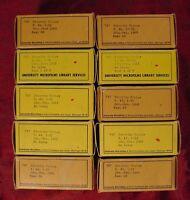 SATURDAY REVIEW MICROFILM 1937-1938-1939-1940-1941-1942-1943-1944-1950-1960-1970